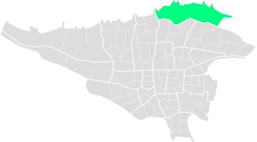 محله های منطقه یک