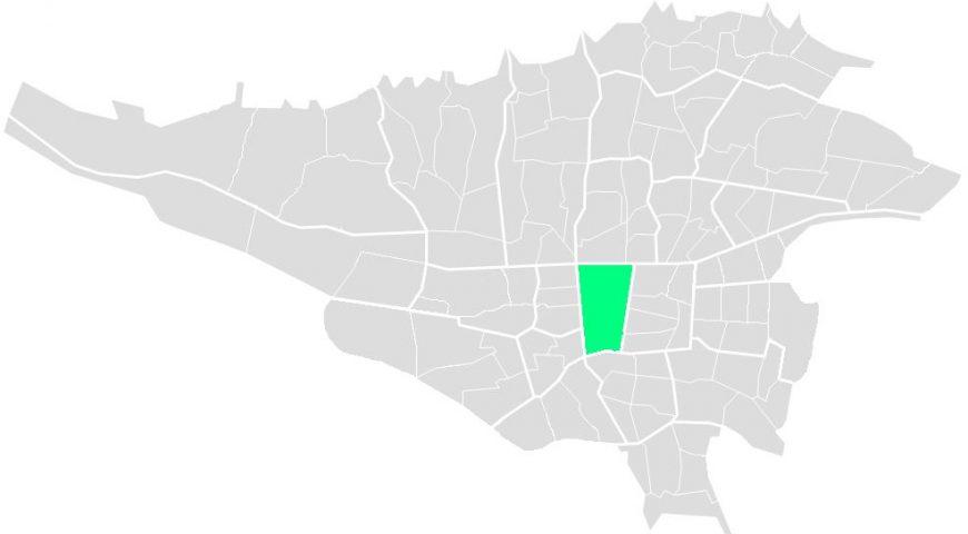 محله های منطقه یازده