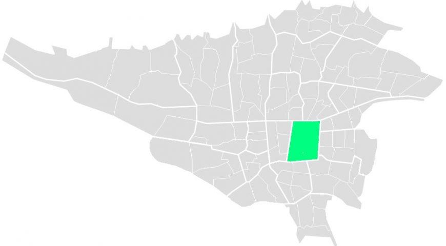 محله های منطقه دوازده