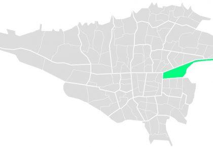 محله های منطقه سیزده