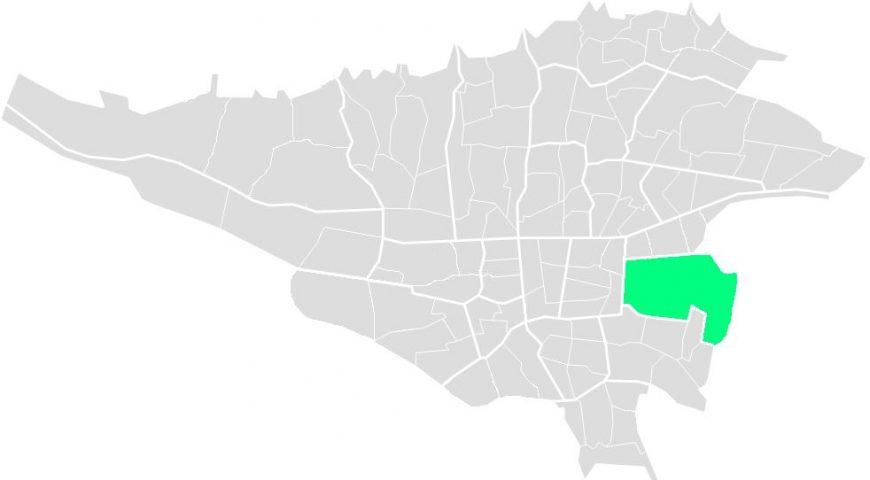 محله های منطقه چهارده