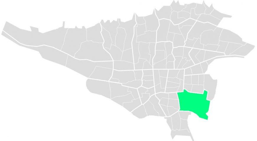 محله های منطقه پانزده