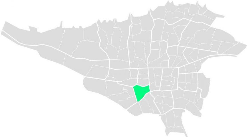 محله های منطقه هفده