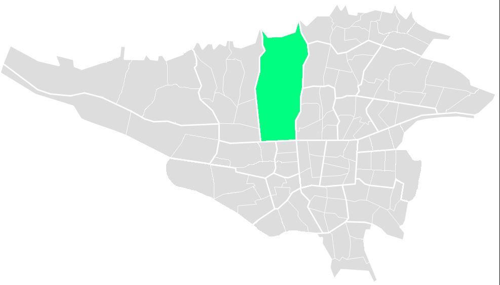 محله های منطقه دو