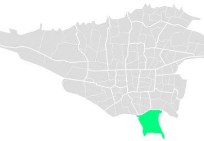 محله های منطقه بیست