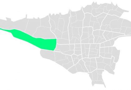 محله های منطقه بیست و یک