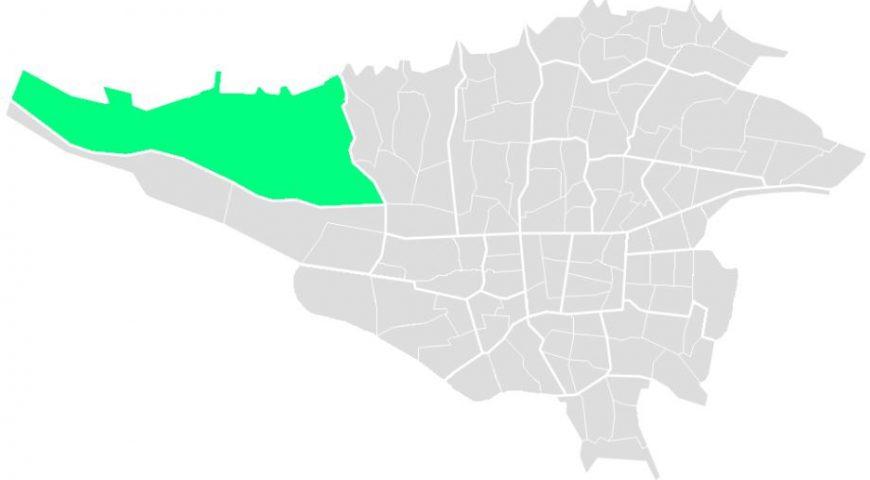 محله های منطقه بیست و دو
