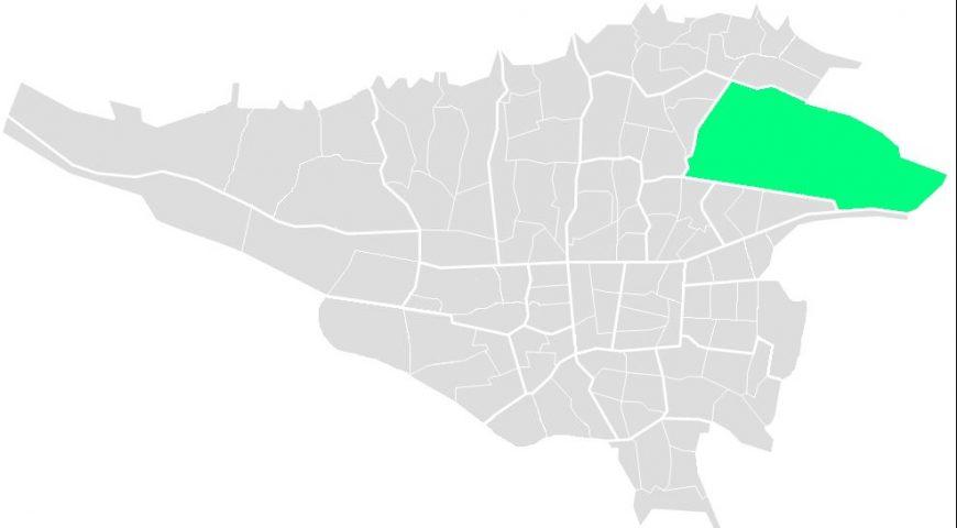 محله های منطقه چهار
