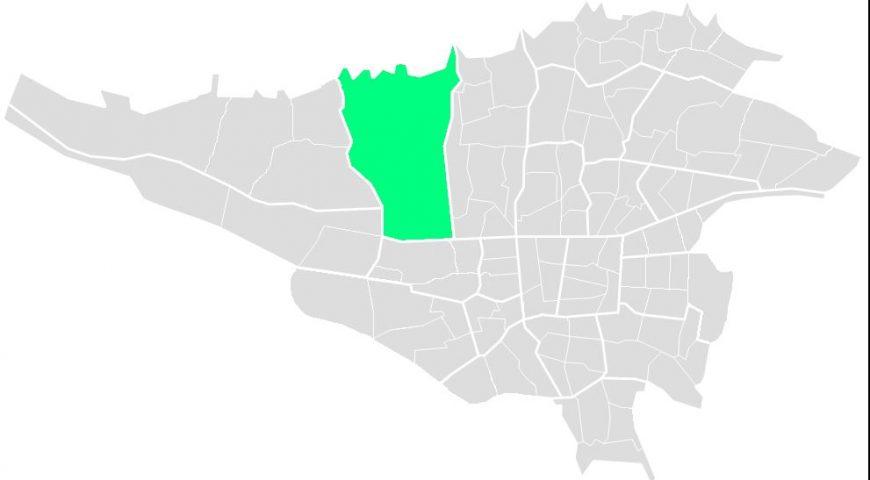 محله های منطقه پنج
