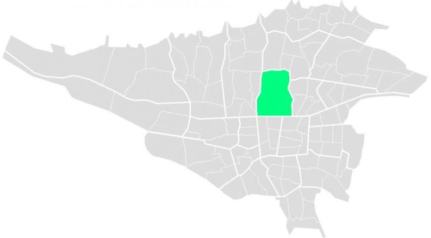 محله های منطقه شش
