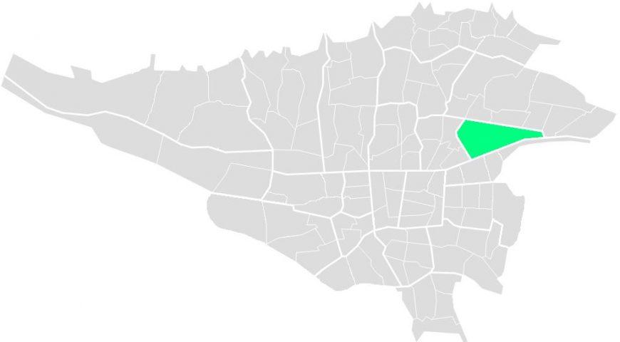 محله های منطقه هشت